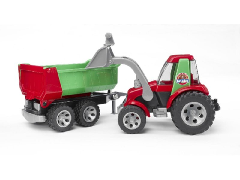 Roadmax traktor m. frontlader bruder 34801223