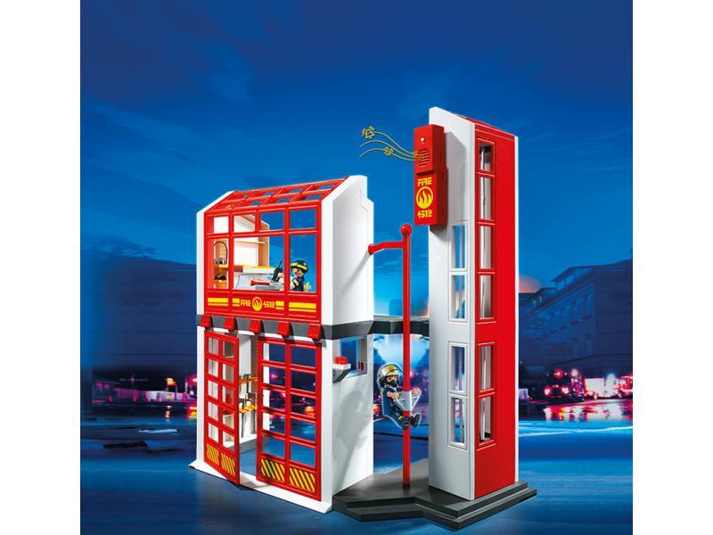 Feuerwehrstation mit alarm playmobil 5361 for Kinderzimmer yanis